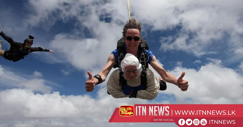 Australian granny skydives at age 102