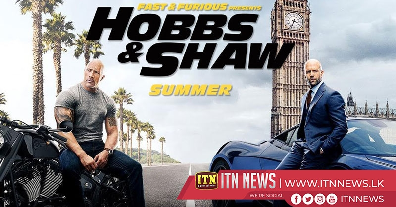 "Upcoming 2019 American buddy cop action ""Hobbs & Shaw"""