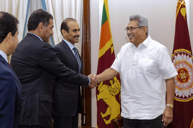The State of Qatar expresses willingness to support Sri Lanka to generate sustainable energy