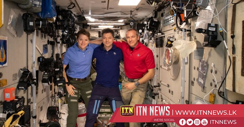 ISS Expedition 59 crew members return to Earth