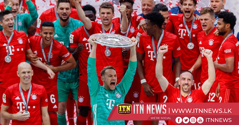 Bayern Munich win Bundesliga title for seventh successive season