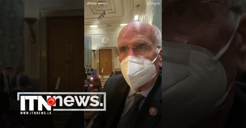 U.S. congressman says told to put on gas mask after tear gas fired inside Capitol