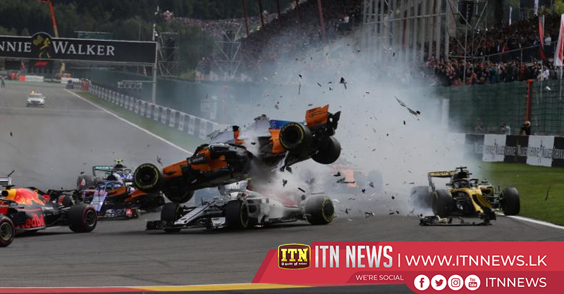 Fernando Alonso walks away from Indy crash unhurt