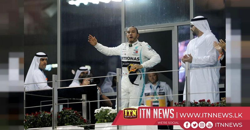 Hamilton ends the F1 season with a dominant victory
