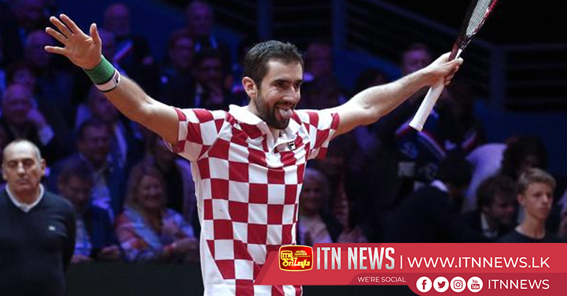 Cilic beats Pouille to win Davis Cup for Croatia