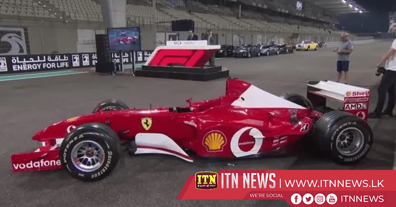 Schumacher driven Ferrari F2002 sells for $5.9 million at auction