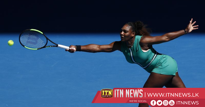 Serena motors into fourth round in Melbourne
