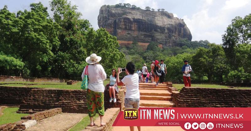 Tourists throng Sigiriya
