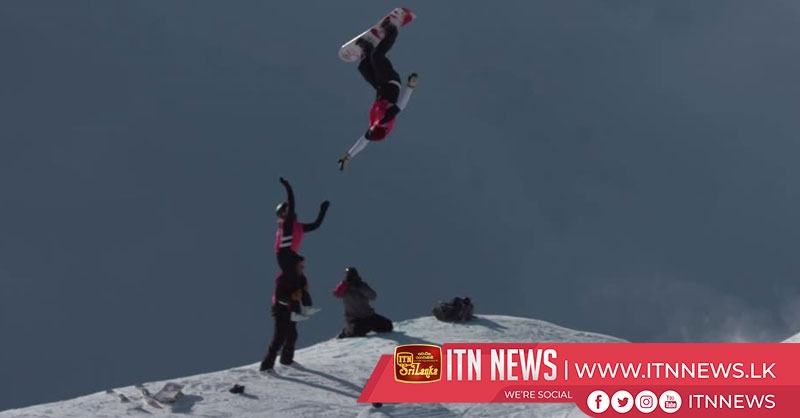 Skiers and snowboarders compete together in in high-flying Tag Team competition