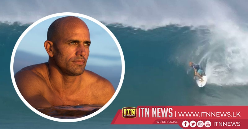 47-Year-old surfing legend Kelly Slater scores a perfect 10 at HawaiIan Pipemasters