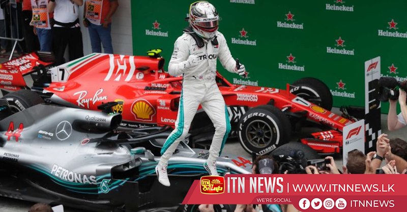 Hamilton races to win after Verstappen and Ocon collision