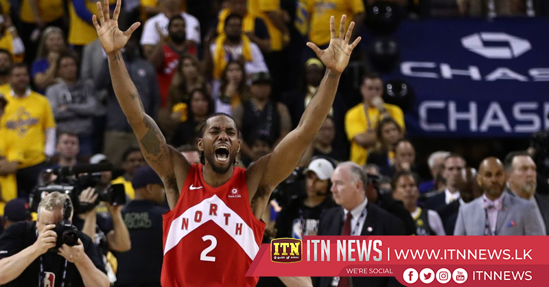 Toronto Raptors beat Golden State Warriors to win first title