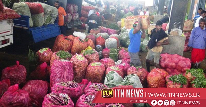 Wholesale prices of vegetables drop