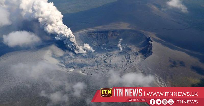 Volcano erupts in southern Japan, no evacuation warning
