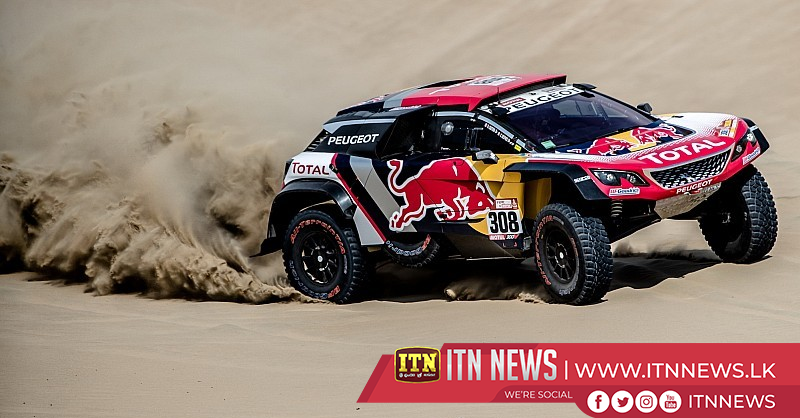 Quintanilla snatches lead in Dakar, Loeb ahead in cars