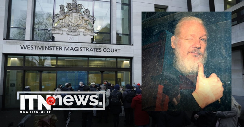 WikiLeaks' Assange arrives for bail hearing at London court