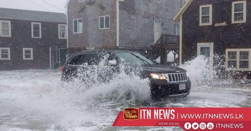 Winter storms pound U.S. Midwest and Northeast states