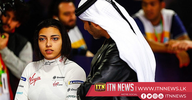 Women drivers test Formula E cars in Saudi Arabia