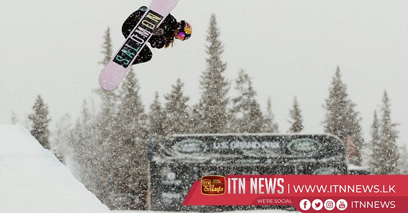 James and Castellet soar to halfpipe wins at Laax Open
