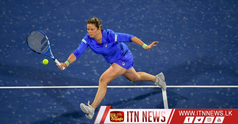 Clijsters loses to Muguruza in comeback match