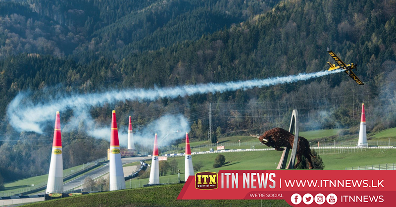 Sonka scores third consecutive victory in Austria air race