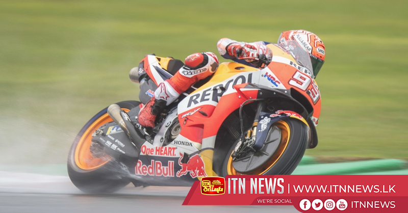 Marquez injures shoulder as Vinales claims pole in Valencia