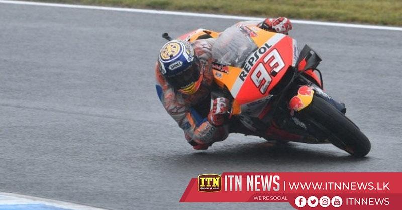 World champion Marquez on pole at Motegi