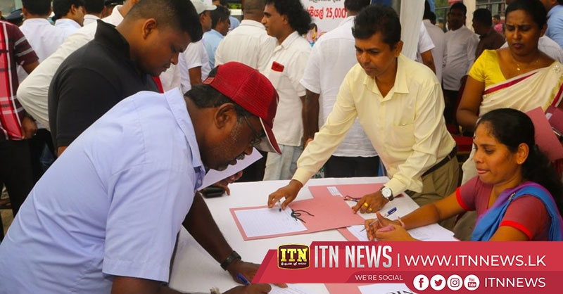 A medical camp for bus drivers