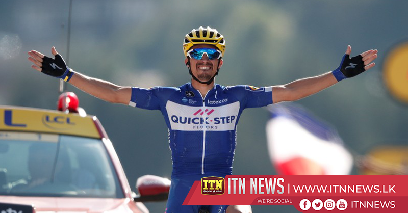 Alaphilippe climbs his way to stage 10 win at Tour de France