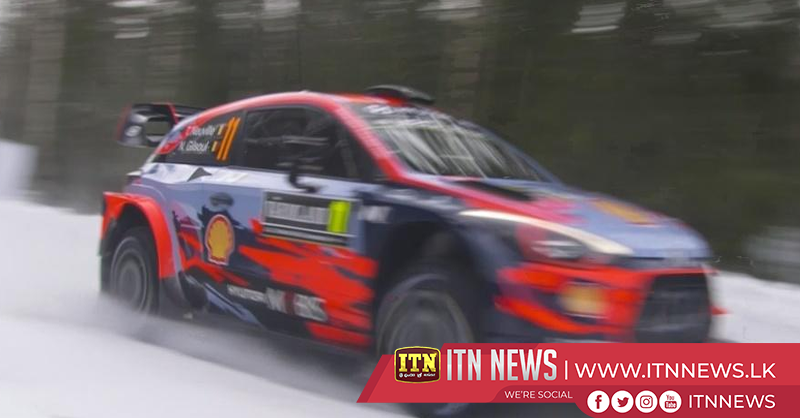 Neuville fastest in shakedown, Gronholm guests in Sweden