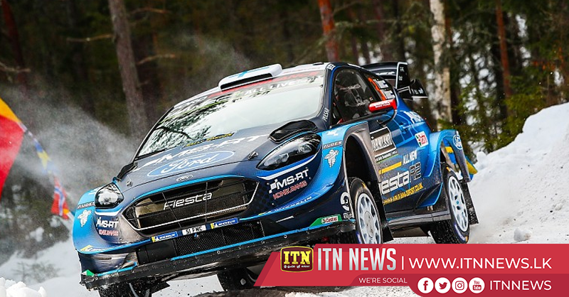 Suninen leads Rally Sweden as Ogier and Latvala crash