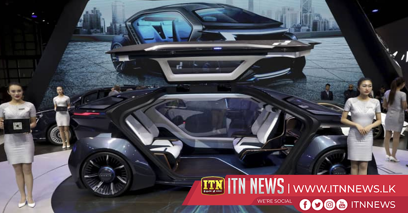 Made-in-China vehicles showcased at 2019 Auto Show Shanghai
