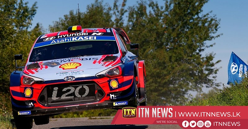 Tanak retains overall lead at Rally Germany
