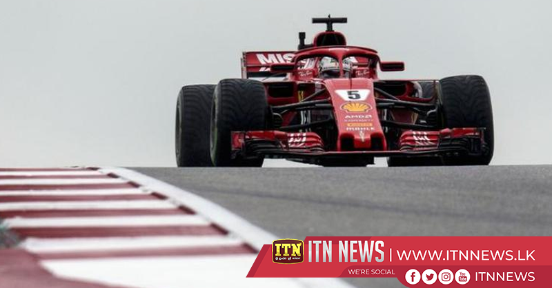 Lewis Hamilton fastest at USGP practice as Sebastian Vettel penalized