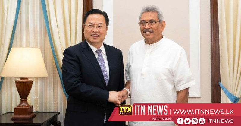 Chinese delegation meets President Gotabaya Rajapaksa