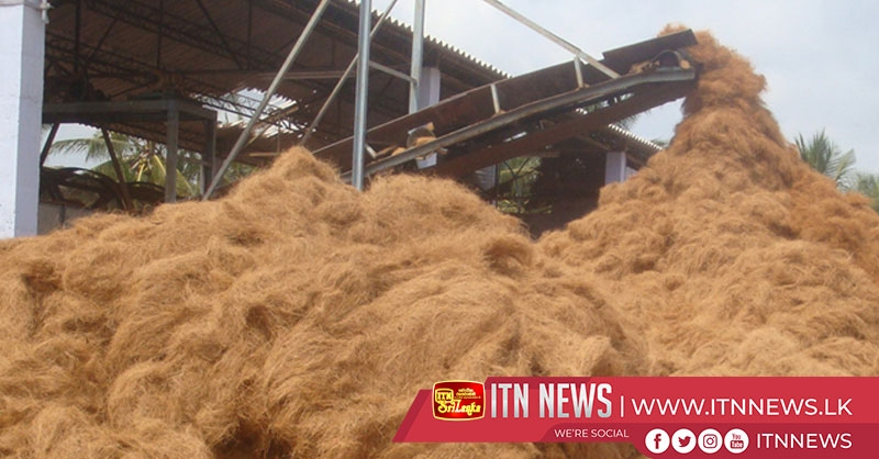 Coir from the Northern Province will be exported to China