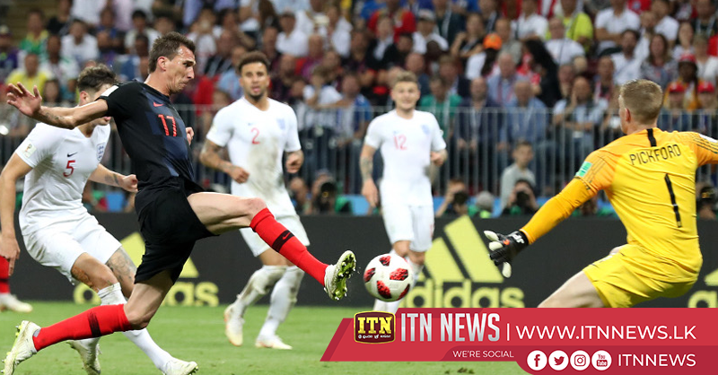 Mandzukic sends Croatia to first World Cup final
