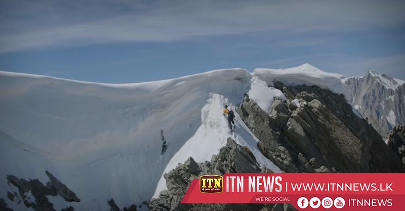 Swiss mountaineer Arnold sets speed record at Grande Jorasses North Face
