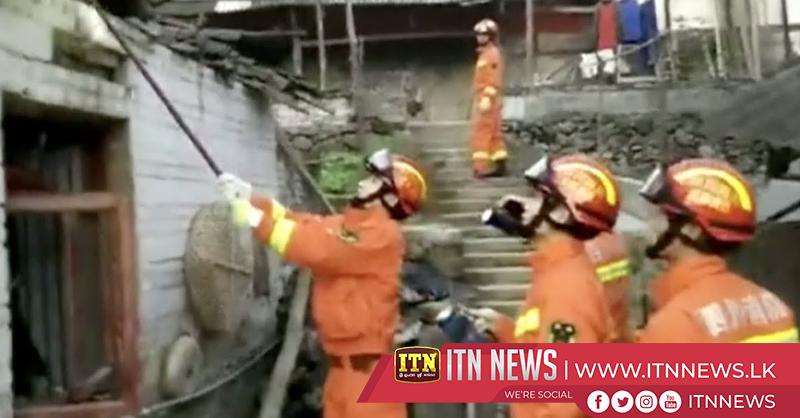 Magnitude 5.7 earthquake leaves 16 injured in southwest China County