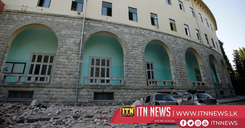 Magnitude 5.6 earthquake rocks buildings in Albania