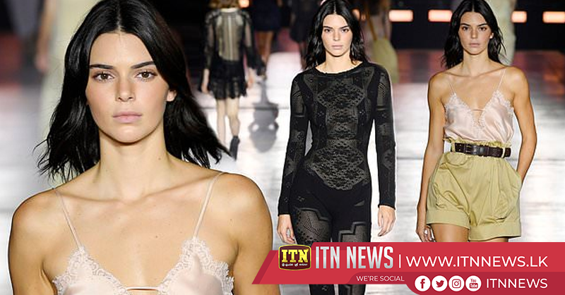 Kendall Jenner among the stars at Alberta Ferretti MFW show