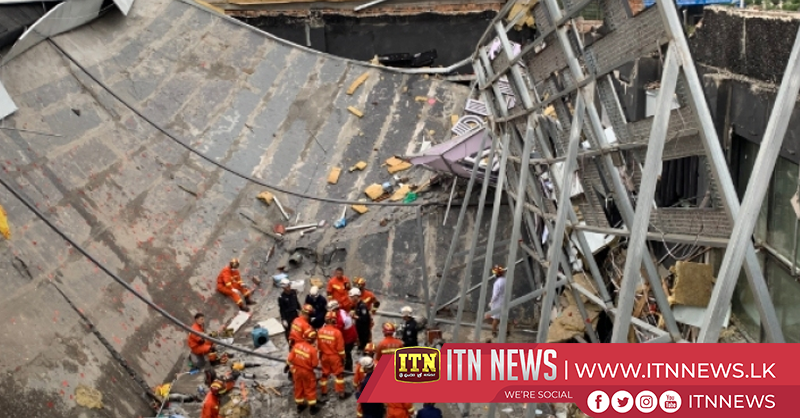 Death toll rises to two in south China bar collapse
