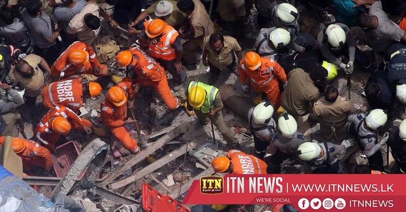 Many trapped and 10 dead in Mumbai