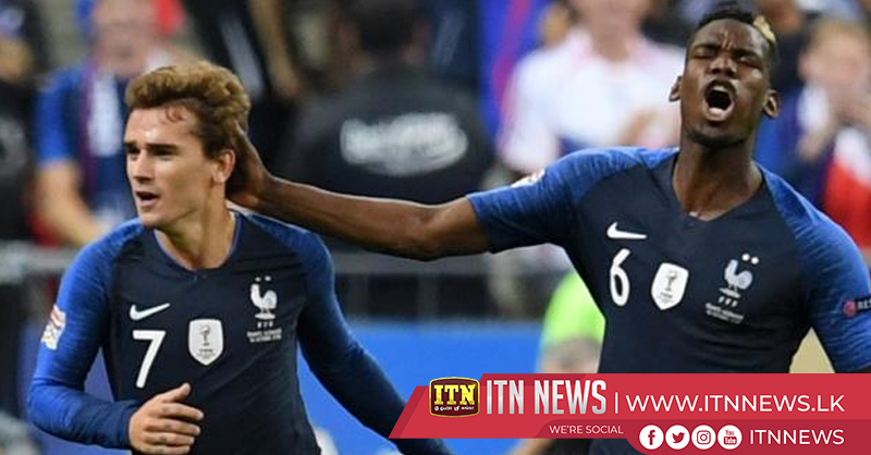 Antoine Griezmann scored twice