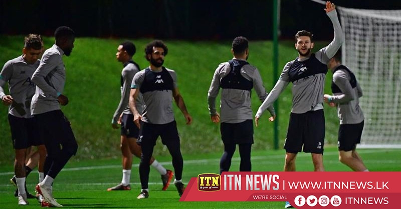 Liverpool train in Doha ahead of FIFA Club World Cup semi-final