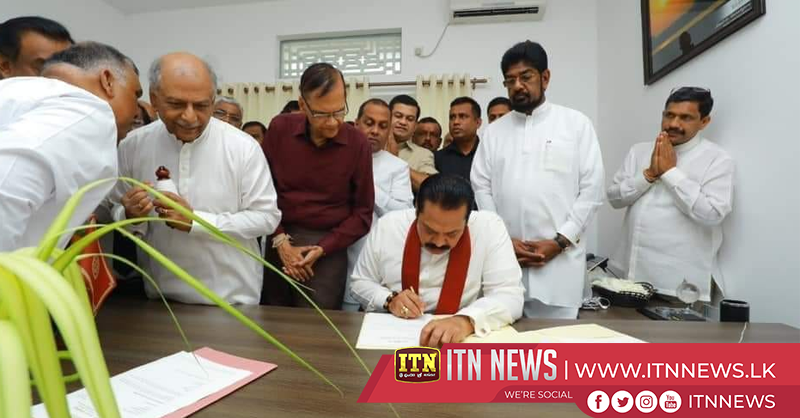 Opposition Leader begins official duties in his office
