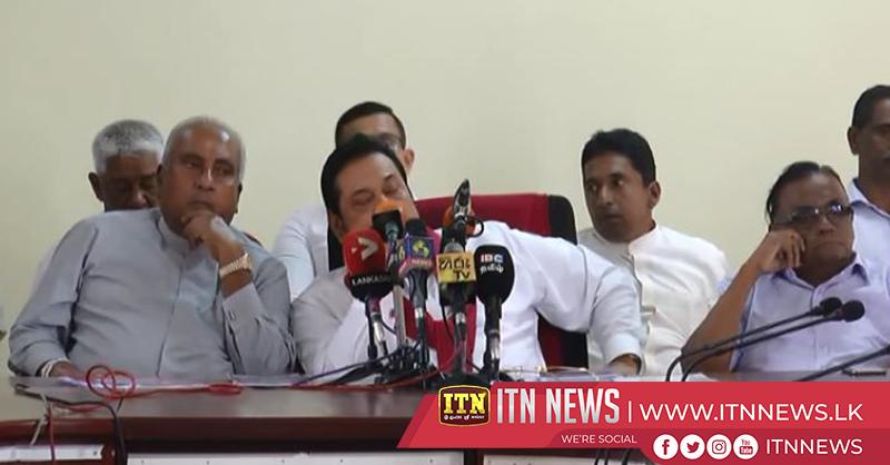 Internaldispute of Sri Lanka Podujana Peramuna further aggravates