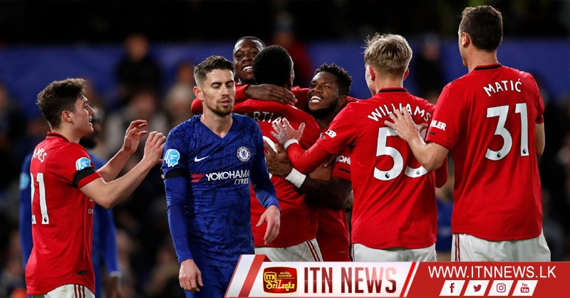 Chelsea 0 Manchester United 2