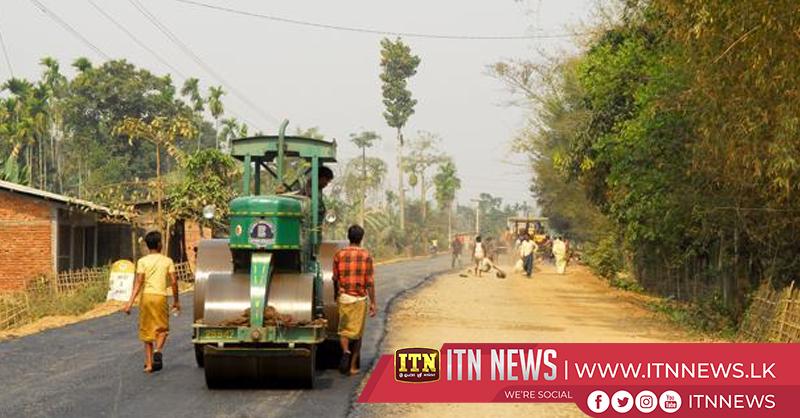 Development of roads and buildings underway