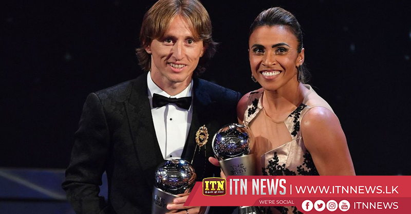 Modric, Marta win Best FIFA player 2018 awards
